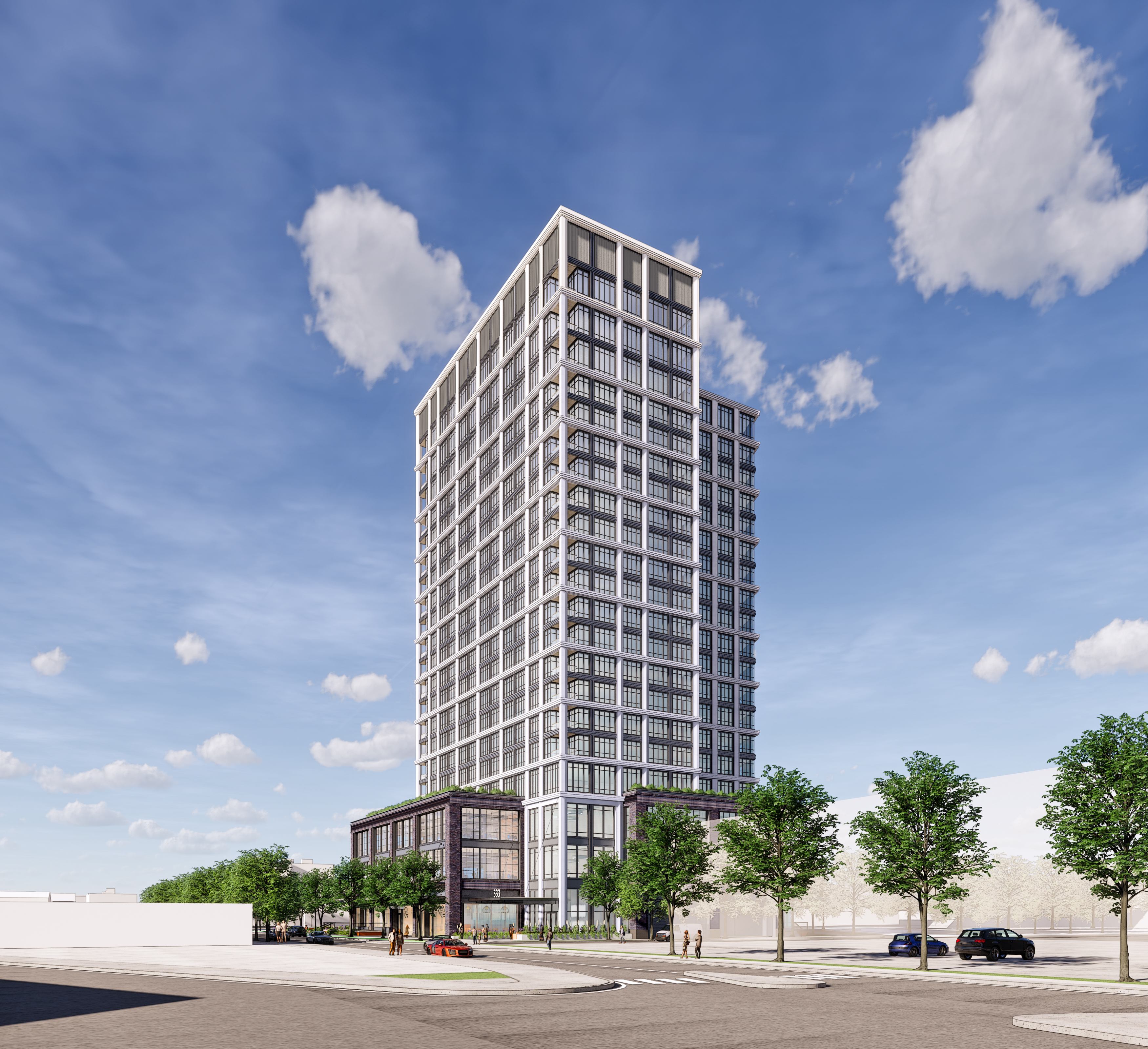 National Development Files Plans for 21-Story Tower on Dorchester Avenue in South Boston