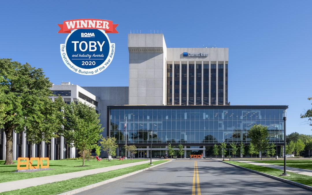 The District Burlington Wins BOMA Boston TOBY Award