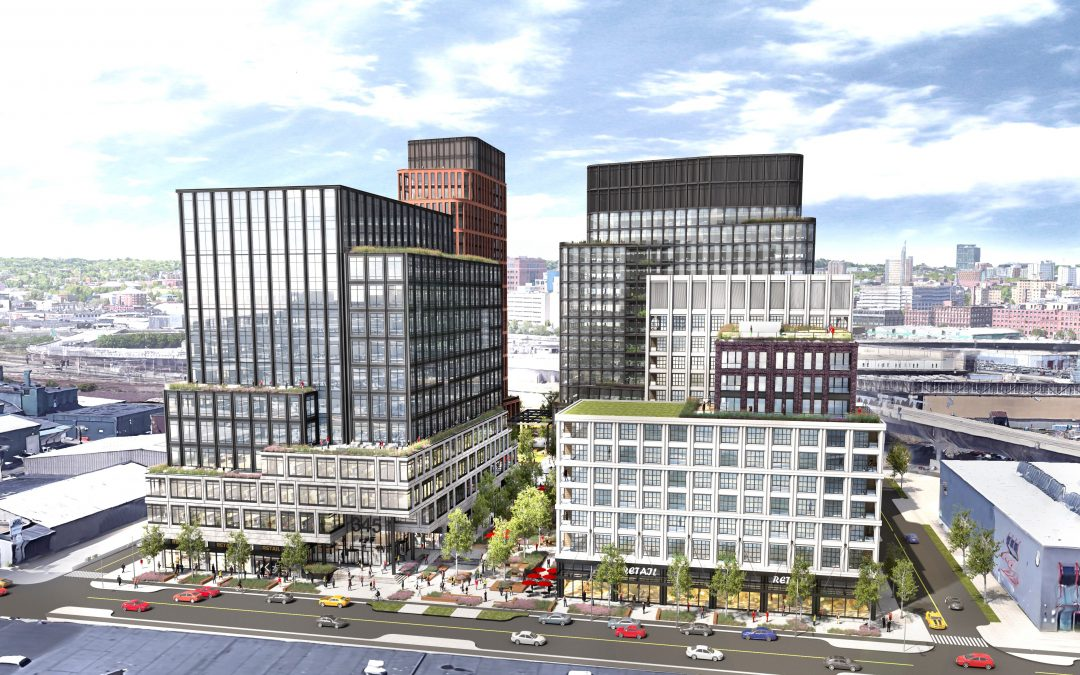 Here's the New Look for National Development's Proposed Lab, Residential Campus in Southie